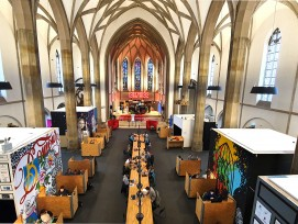Kirche St. Elisabeth in Aachen Coworking-Space