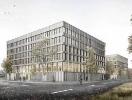 Visualisierung Sicherheitszentrum Rothenburg Aussenansicht