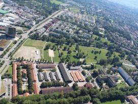 Das Areal Springgarten in Bern