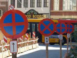 Strassenschilder in Kopenhagen