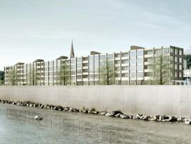Visualisierung Überbauung Reusszopf in Luzern