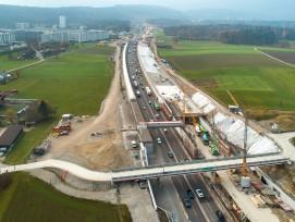 Bauarbeiten Nordumfahrung Zürich