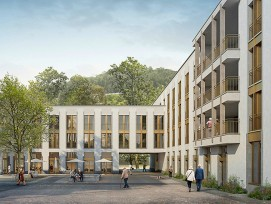 Visualisierung Regionales Pflegezentrum Baden