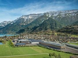 Visualisierung modernisierte BLS-Werkstätte in Bönigen