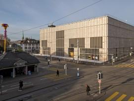Erweiterungsbau Kunsthaus Zürich Recyclingbeton