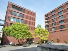 Aussenraum auf Careum-Campus in Zürich