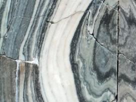 Eines der Paare der untersuchten Marmorplatten.