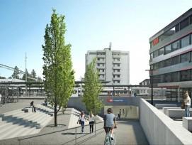Bahnhofplatz Nord Langenthal