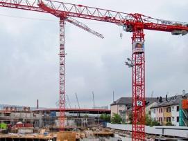 Überbauung beim Letzigrundstadion in Zürich