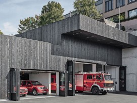 Feuerwehrdepot in Rorschacherberg