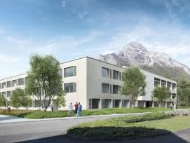 Visualisierung Erweiterung Kantonsschule Sargans