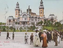 Tonhalle, Postkarte von 1900