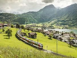 Zentralbahn auf der Brünigstrecke