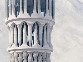 Weisser Turm (Visualisierung)