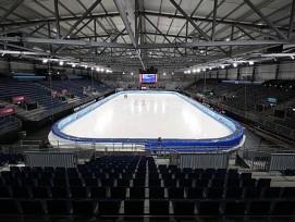 Temporäres Eishockey-Stadion Patinoire de Malley 2.0 Lausanne HC
