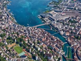 Luzern aus der Vogelperspektive