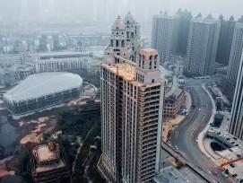 Geisterstadt des Xiangyun International Project in China