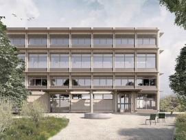 Visualisierung Ersatzneubau Bezirksgericht Hinwil