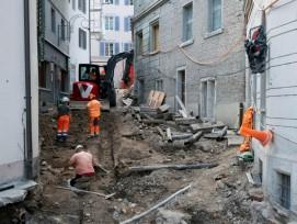 Römische Bebauung bei Hörnligasse in Baden