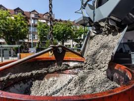 Baustelle Tramdepot Burgernziel in Bern