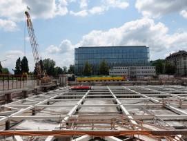 Baustelle Ersatzneubau Swiss Re Zürich