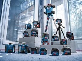 Produktüberblick Nivelliergeräte von Bosch