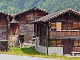 Häuser im Wallis
