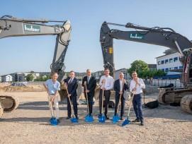 Spatenstich für Neubau Dreiklang des Kantonsspitals Aarau