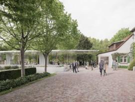 Visualisierung Sanierung Museum Villa Langmatt Baden