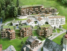 Visualisierung Projekt Am Baumgarten in Unterägeri