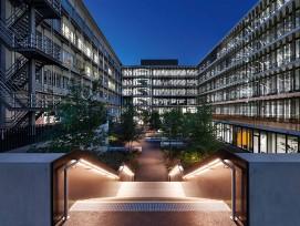 Laborneubau UZI 5 Universität Zürich bei Nacht