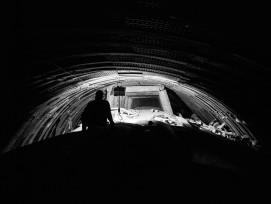 Zwischenangriff im Paragneis Gotthard Strassentunnel