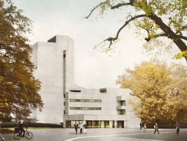 Visualisierung Sanierung Theater St. Gallen