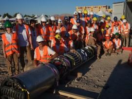 Team Swissloop Tunneling mit Tunnelbaumaschine Groundhog Alpha