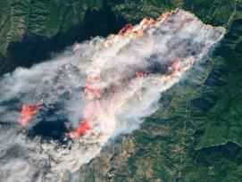 Waldbrand in Kalifornien im November 2018