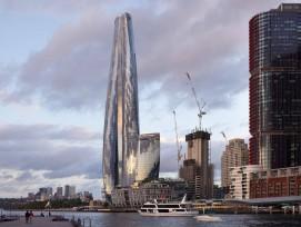 One Barangaroo Wolkenkratzer in Sydney