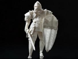 Origami-Ritter von Juho Könkkölä