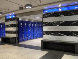Schliessfächer im Hauptbahnhof Zürich