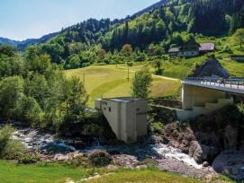 Visualisierung Kraftwerkszentrale Kraftwerk Waldemme Flühli