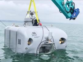 Testfahrt U-Boot P-63 von Subspirit