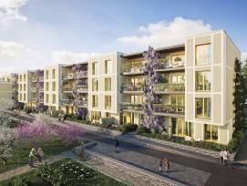 Visualisierung Quartier Kleinbruggen Chur West