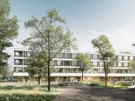 Visualisierung Neubau Kantonsspital Schaffhausen