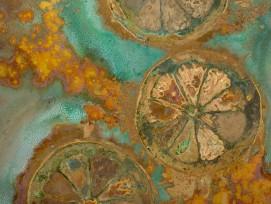 Alchemie der Oberfläche, Detail.