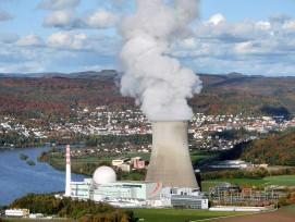 Kernkraftwerk Leibstadt im Aargau