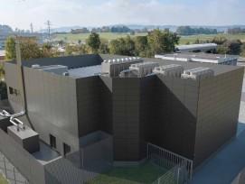 Visualisierung CKW-Rechenzentrum DataCenter in Zug