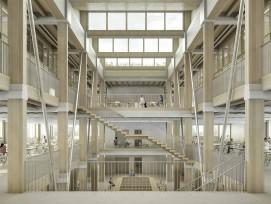 Visualisierung Projekt Partenaris Fachhochschulzentrum Graubünden