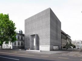 So stellen sich die Architekten das neue Kunstmuseum vor. (PD)