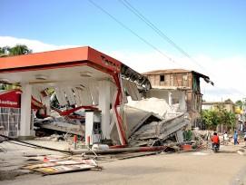 Im 2010 wurde auch die haitianische Stadt Jacmel vom Erdbeben massiv zerstört.  Rund 70 Prozent der Häuser waren beschädigt worden. (Gemeinfrei, wikimedia.org)