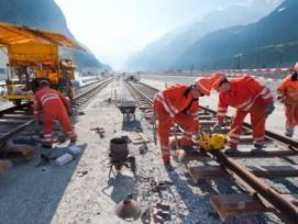 Der Gotthard-Basistunnel bei Altdorf. Bild: AlpTransit Gotthard AG