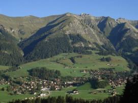 Gemeinde mit Vorbildacharakter: Chateau-d'-Oex. (gemeinfrei)
